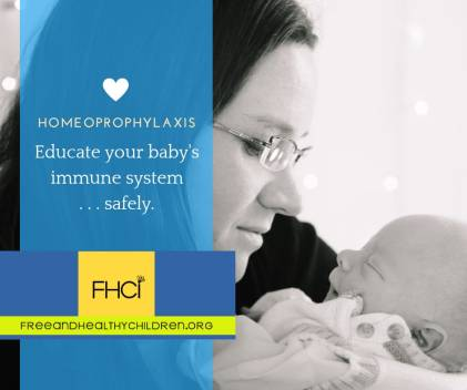 HP educating your childs immune system
