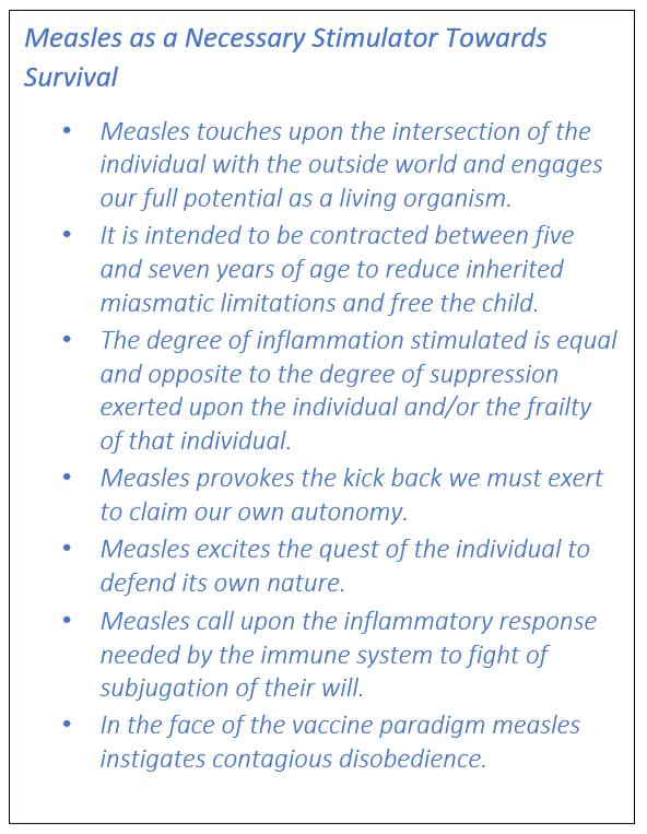 Symptoms measles